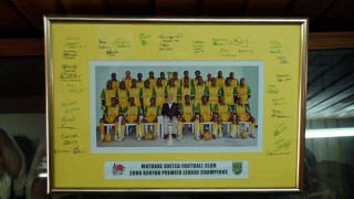 The Kenyan championship-winning Mathare United team