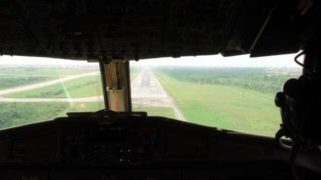Landing in Lagos