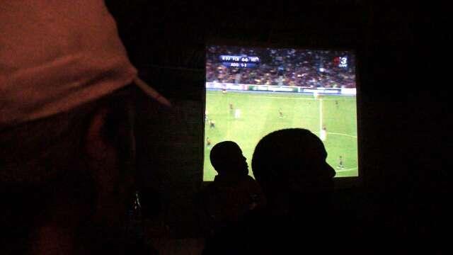 Big screen action in Longido