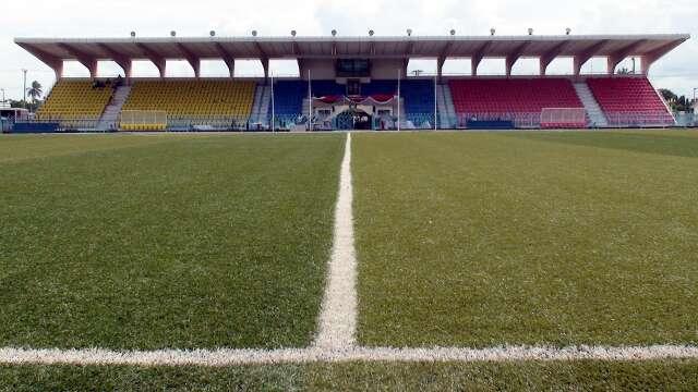Uhuru Stadium in Dar es Salaam