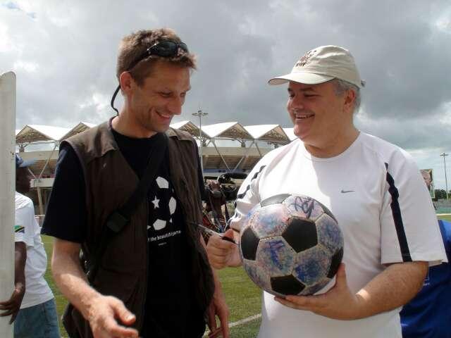 Brazilian Ambassador Francisco Carlos Soares Luz and The Ball