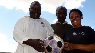 Alive and Kicking Zambia stitchers and The odd Ball
