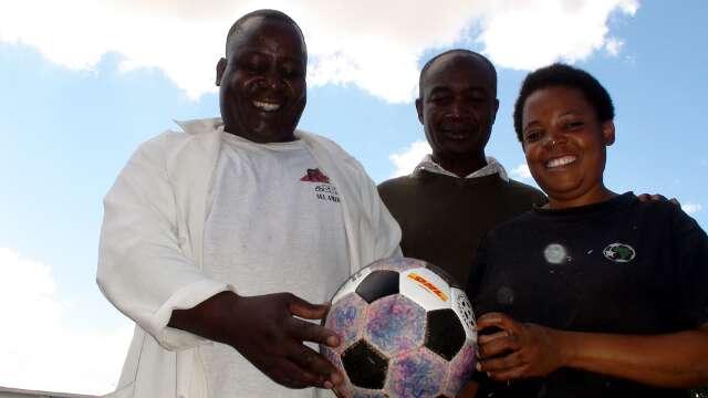 Alive and Kicking Zambia stitchers and The odd Ball