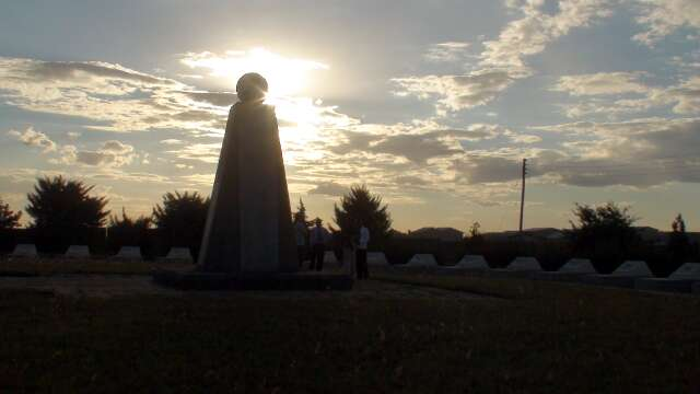 Memorial to the fallen heroes at Indepemdene Stadium in Lusaka