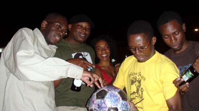Mosi boys celebrate The Ball