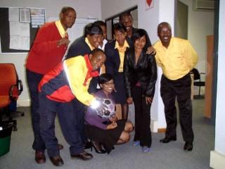 DHL Botswana in da Haus