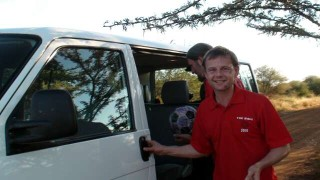 Phil is pleased to be in South Africa