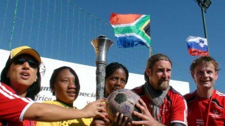 Special Olympics' Torch and The Ball
