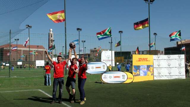 Three directors and loads of World Cup flags