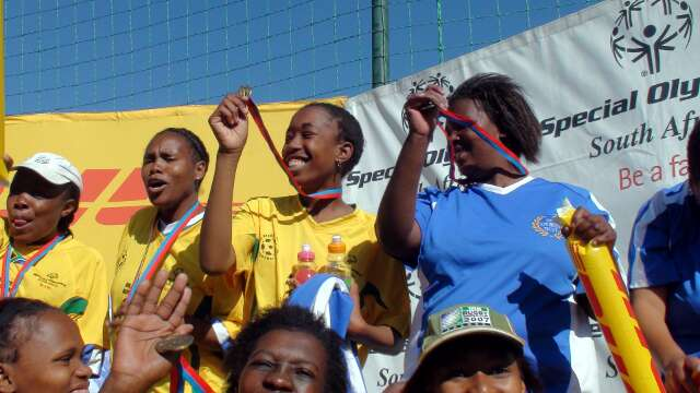 Once again Special Olympics' athletes are the winners