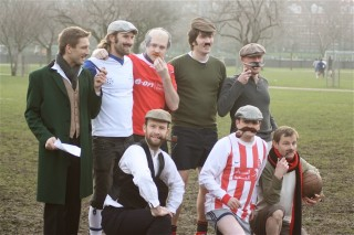 Vintage Battersea Park team