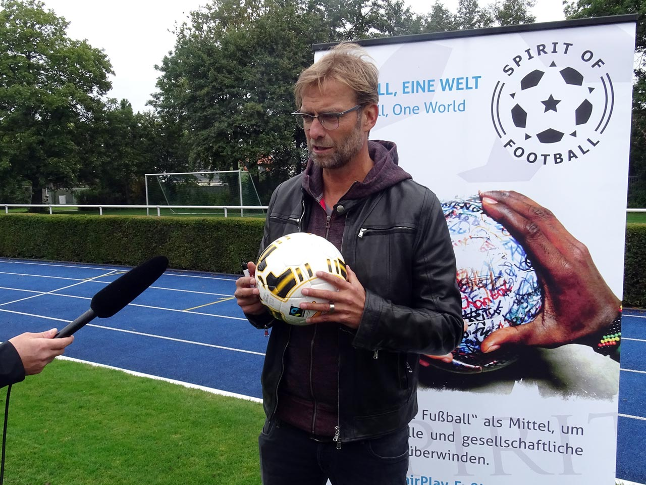 Jürgen Klopp, our biggest supporter