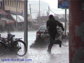 Rain in Xiahe threatens the game
