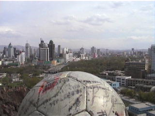 The Ball in Urumqi