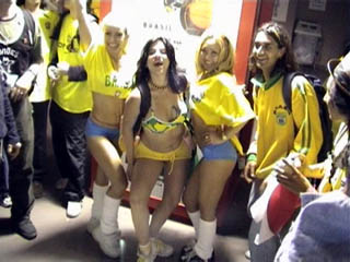 The posing Brazilians