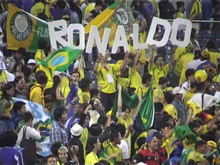 Brazil crowd know who they appreciate