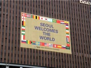 Seoul welcomes the World