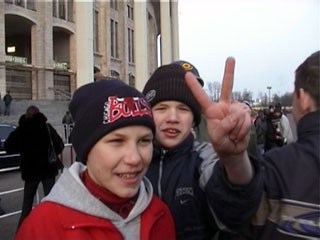 Young Spartak fans