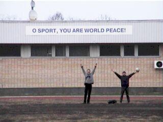 O Sport You Are World Peace