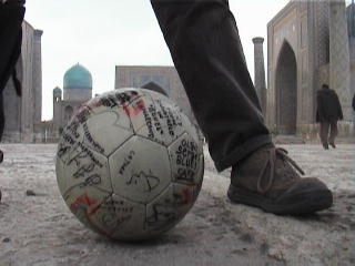 the Ball at the Registan