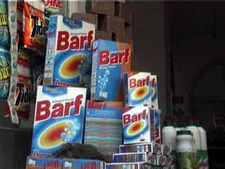 Barf powder