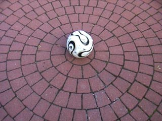 The Ball comes to rest