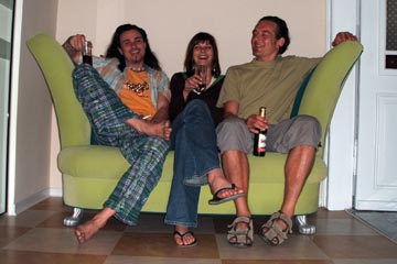 The Opera Hostel Crew - Dixi, Sany and Jens