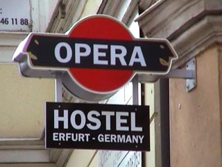 The Opera Hostel in Erfurt