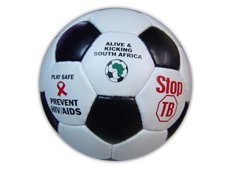 The current look of The Ball 2010 made by Alive and Kicking in South Africa