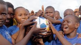Children love The Ball