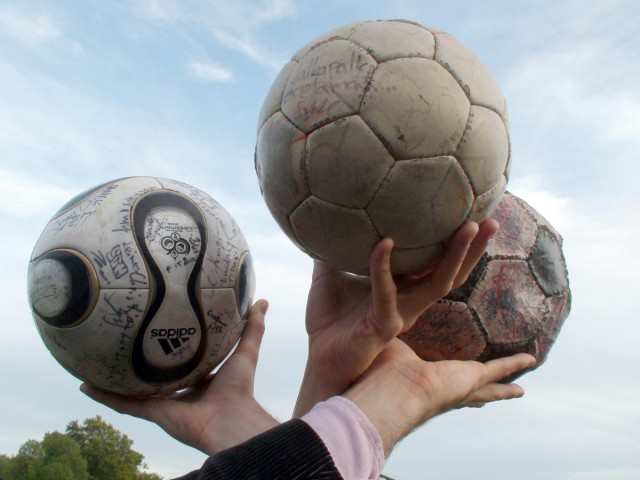 The Balls from 2002, 2006 and 2010