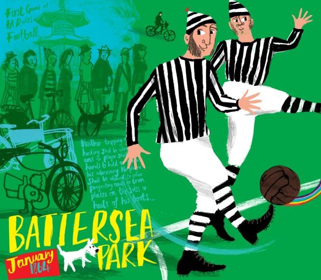 Battersea Park by Sophie Joyce