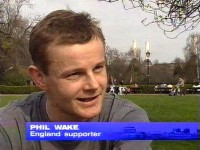 Phil on London News Network in 2002